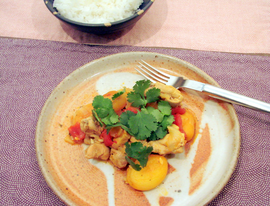 Chicken and Apricot Masala