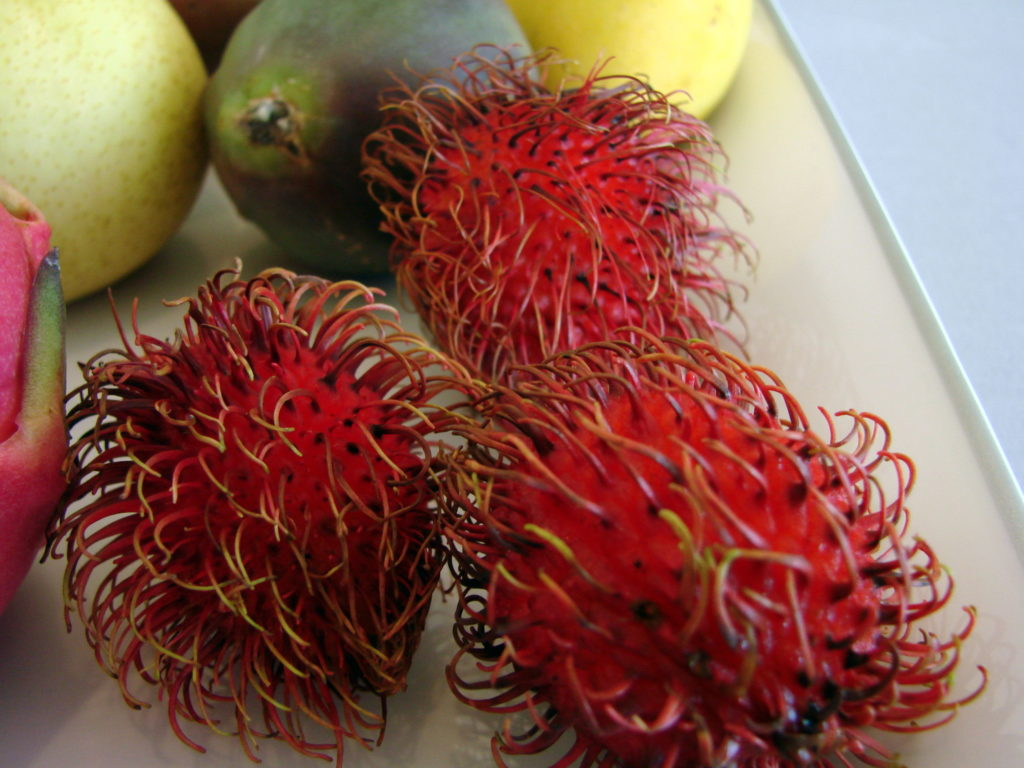 Actually, neither does rambutan.
