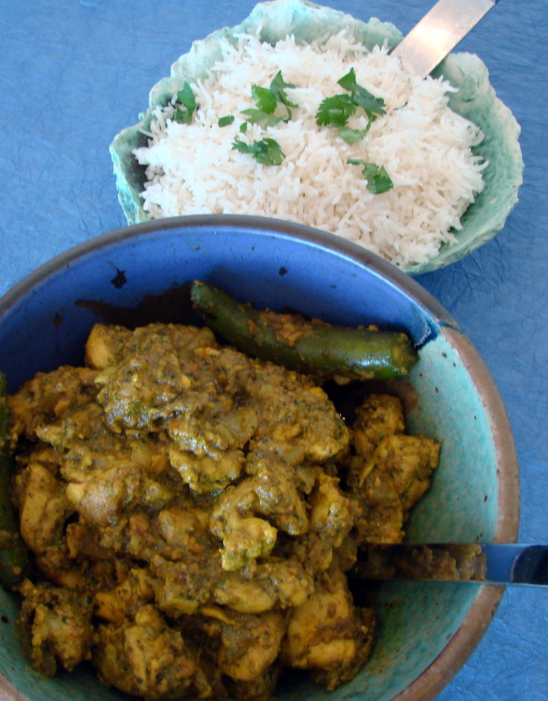 Just serve with rice or naan for a complete meal.