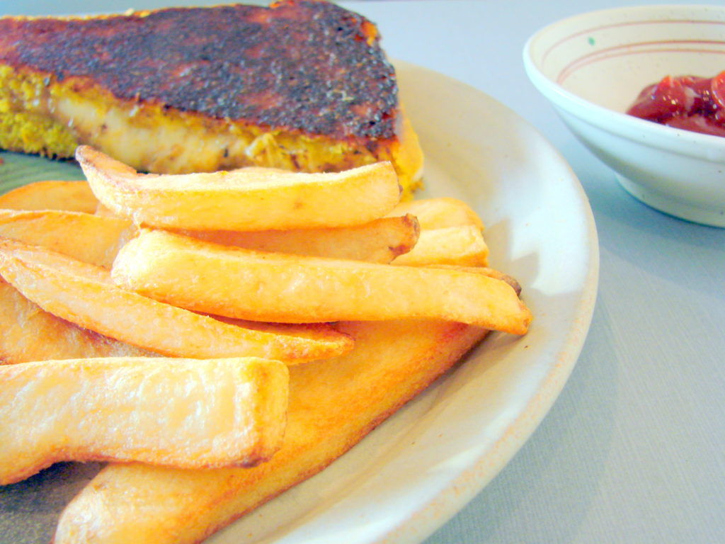 There's a difference between good grilled cheese and great grilled cheese.
