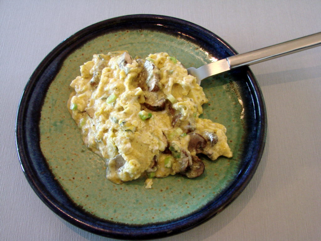 Scrambled eggs—really good ones