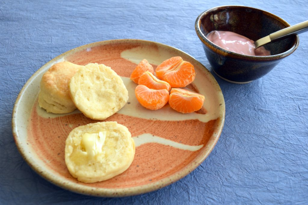 Buttermilk Biscuits (without the Buttermilk)