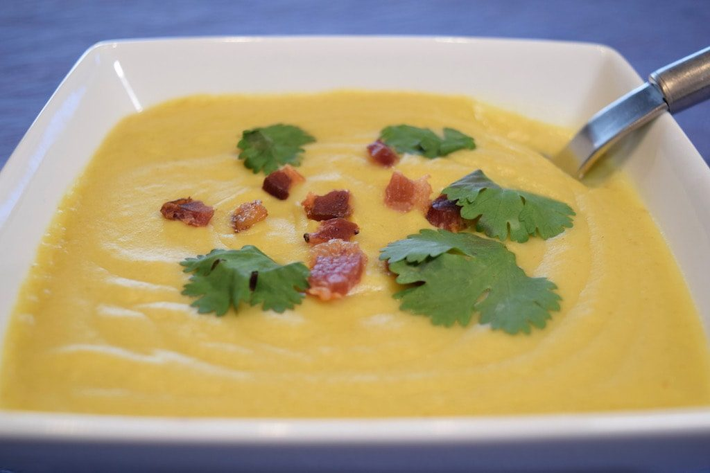 Sweet Potato Soup: a Thai Version