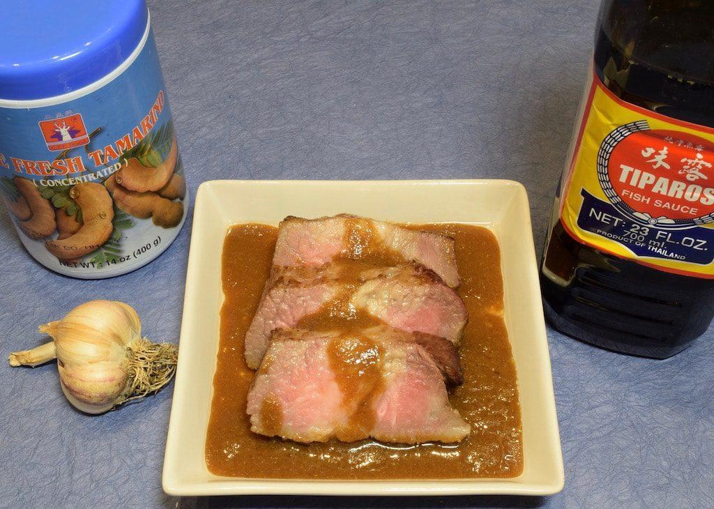 Beef Brisket Braised in Vietnamese Sate Sauce