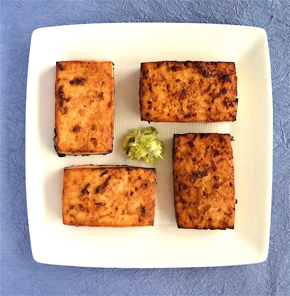 Marinated, Baked Tofu