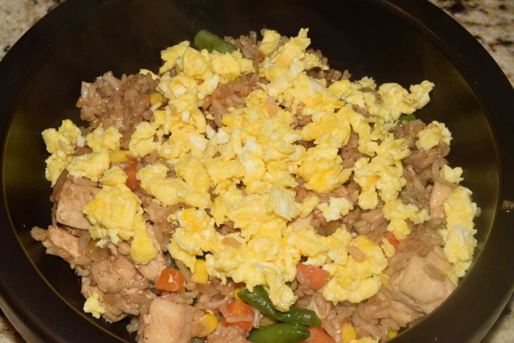 Fried Rice – Cooking 101 – Grade: C