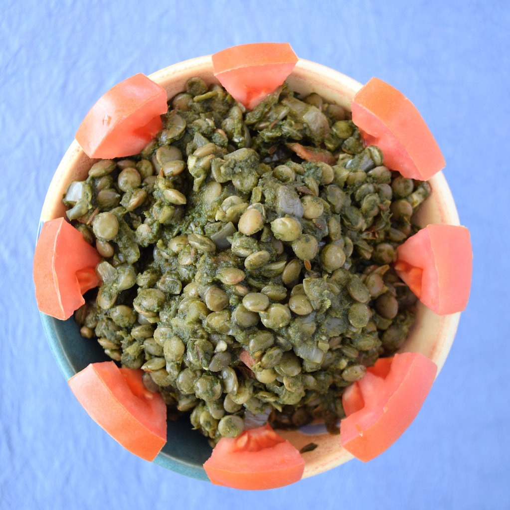 Spinach Lentil Curry