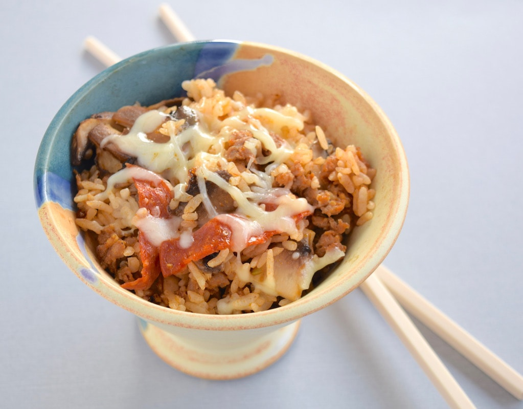 Pizza Fried Rice